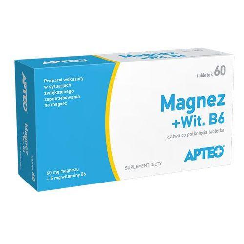[tabletki] Magnez + Wit.B6 x 60 tabl. Apteo