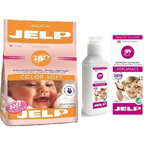 Zestaw JELP: Proszek Color Soft 2,24kg + Odplamiacz 250ml, Jelp z Bliżej Ciebie