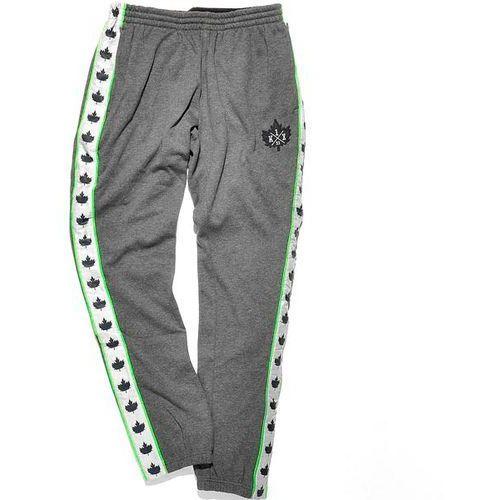 spodnie dresowe K1X - Core Leaf Panel Dark Grey Heather/Navy (8486) rozmiar: XL - produkt z kategorii- spodnie