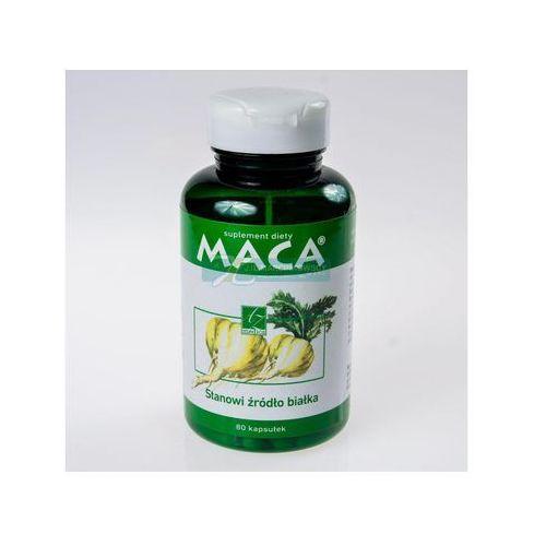Maca kaps. x 80, postać leku: kapsułki