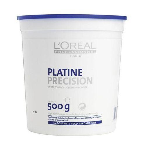 LOreal puder do częściowej dekoloryzujący niskopylący Platine Precision 500g - szczegóły w dr włos