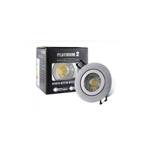 Halogen sufitowy LED Platinum 2 STAR z oprawą okrągłą 5,5 W barwa biała zimna z kategorii oświetlenie