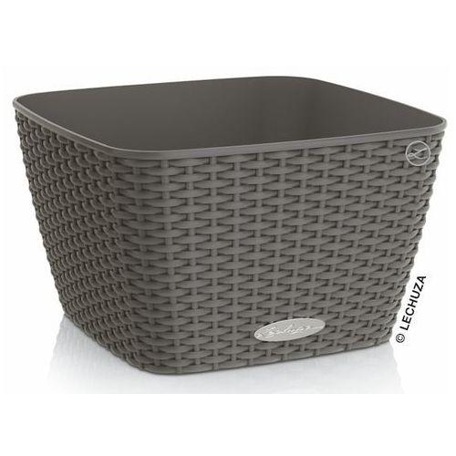 Donica Lechuza Bacino Cottage granit 30x30x18, produkt marki Produkty marki Lechuza