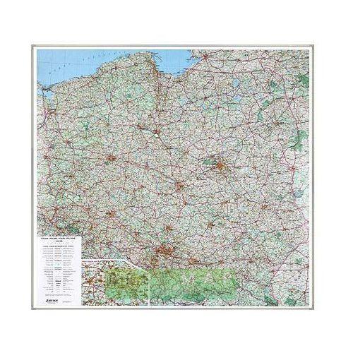Polska. Mapa ścienna drogowa w ramie 1:500 000 wyd. , produkt marki Eko-Graf