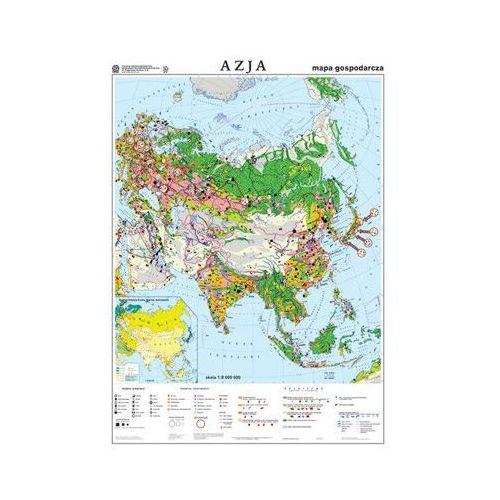 Produkt Azja. Mapa ścienna, gospodarcza Azji, marki Nowa Era