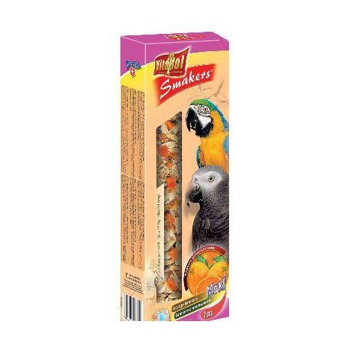 Smakers Kolby Maxi pomarańczowe dla dużych papug 2 sztuki, Vitapol