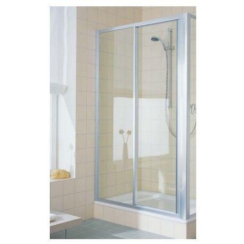 Oferta Drzwi prysznicowe rozsuwane 110 cm z polem stałym Kermi Cada CAST211018VPK (drzwi prysznicowe)