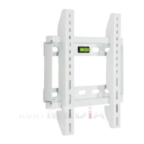 Uchwyt ścienny do lcd 14''-29'' slim max.75kg biały od producenta 4world
