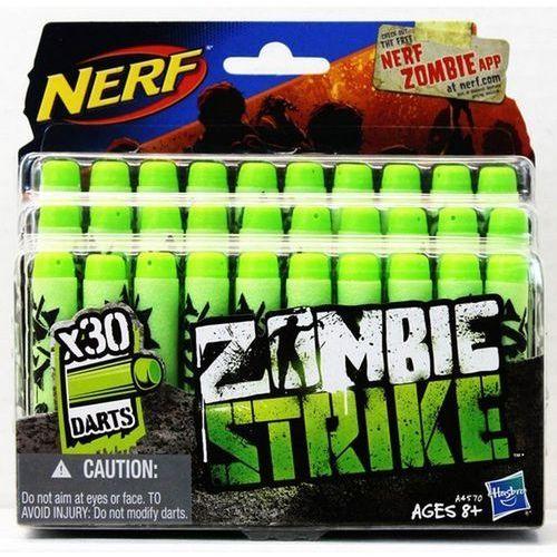 Zabawka HASBRO Nerf Zombie Strike Zestaw 30 Strzałek A4570 oferta ze sklepu ELECTRO.pl