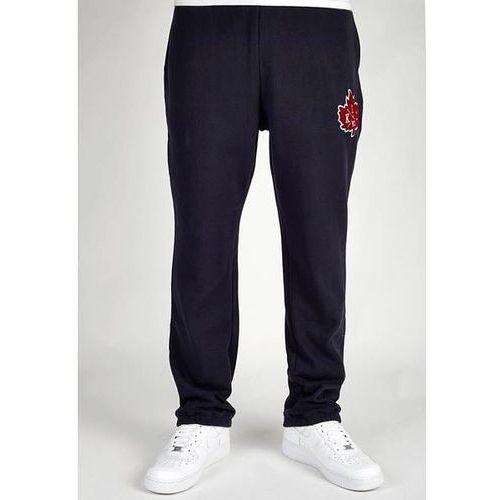 spodnie dresowe K1X - Vintage Crest Sweatpants Navy/Burgundy (4677) rozmiar: XL - produkt z kategorii- spodnie