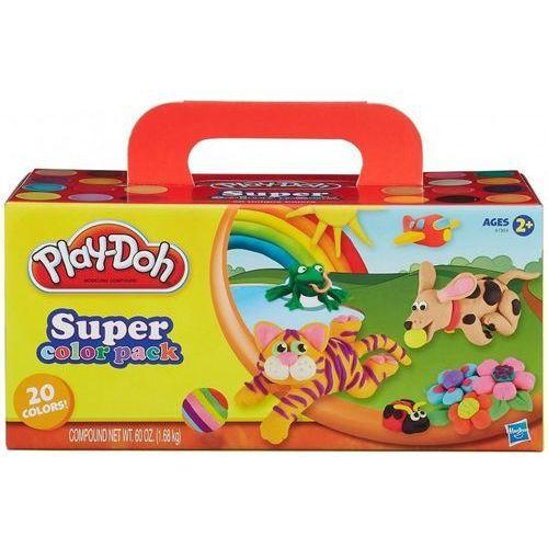 Play Doh Super kolorów 20 kubki, Hasbro A7924 - oferta [1513dda13fd33432]