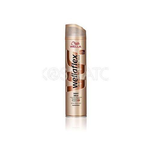 Produkt z kategorii- pozostałe kosmetyki do włosów - Wellaflex Shiny Hold (Połysk i Trwałość) Lakier, 250 ml
