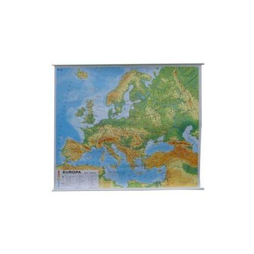 Europa. Mapa ogólnogeograficzna (fizyczna) / do ćwiczeń. Mapa ścienna Europy, produkt marki Nowa Era