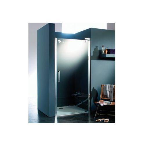 Huppe Refresh pure Drzwi prysznicowe skrzydłowe do wnęki - 100/194 cm srebrny matowy Szkło przezroczyste An
