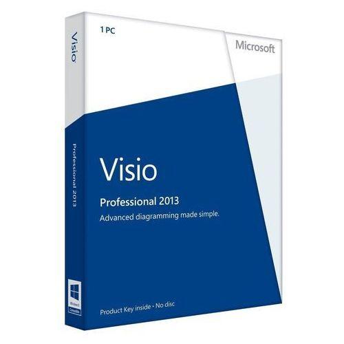 Microsoft Visio Professional 2013 2013 32-bit/x64 Polish z kategorii Programy biurowe i narzędziowe
