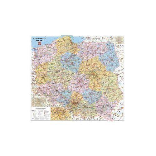 Polska - mapa kodowo-drogowa. ścienna - OD WYDAWCY, produkt marki Demart S.A.