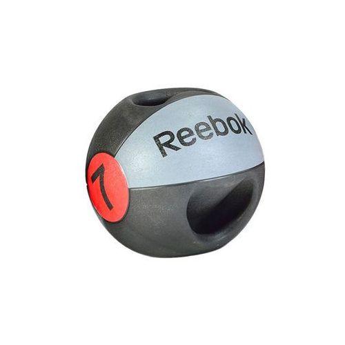 Piłka lekarska 7 kg (z uchwytem) RSB-10127, produkt marki Reebok