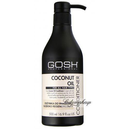 GOSH - COCONUT OIL CONDITIONER - Odżywka do włosów głęboko regenerująca z olejem kokosowym - 500 ml - produkt z kategorii- odżywki do włosów