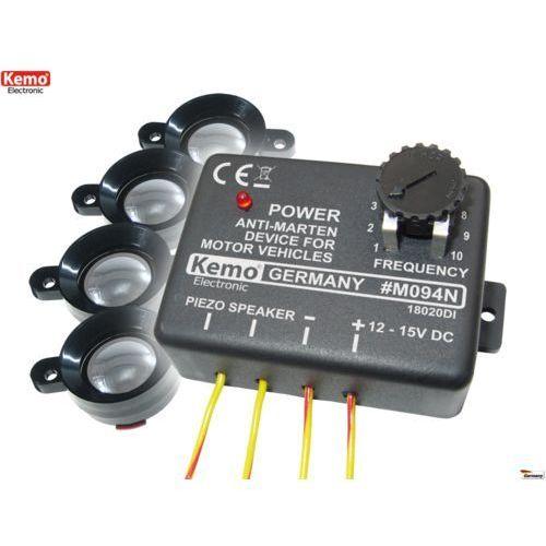 Odstraszacz ultradźwiękowy 4 x piezo  M094, produkt marki Kemo