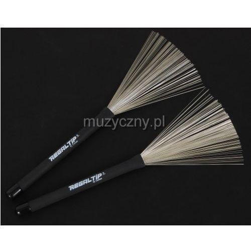 Regal Tip BR-500PLB Pull Out Wire Brush miotełki perkusyjne - sprawdź w wybranym sklepie
