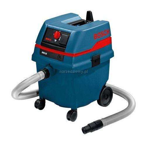 BOSCH Odkurzacz do pracy na sucho i na mokro GAS 25 (produkt wysyłamy w 24h) TRANSPORT GRATIS !, kup u jednego z partnerów