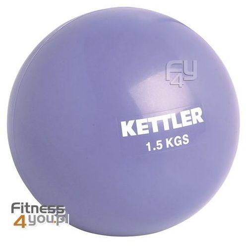 Piłka do ćwiczeń  1,5 kg 07350-062 - fioletowa, produkt marki Kettler