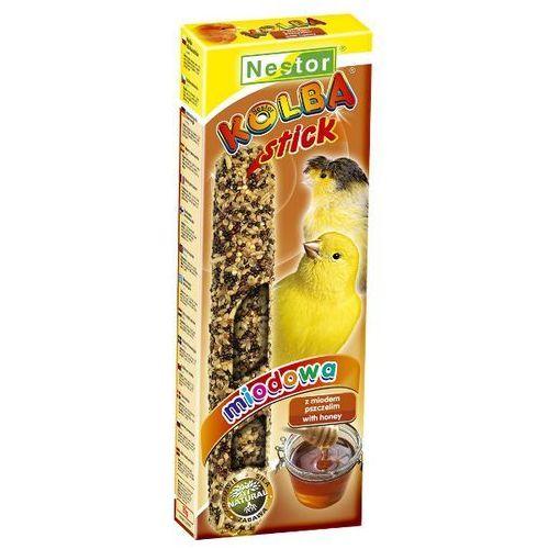 NESTOR 2szt/op kolba miodowa dla kanarka, Nestor