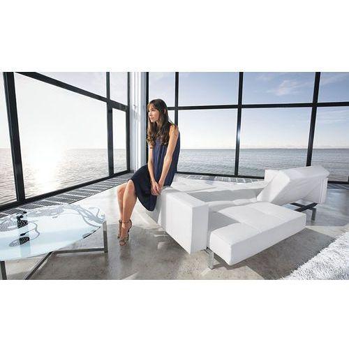 Istyle Innovation Istyle Oz Sofa Rozkładana Biała Skóra Ekologiczna 235x115 cm (4250268301845)