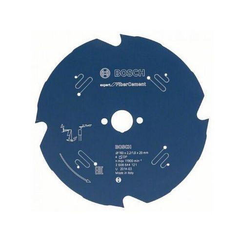 Tarcza pilarska Expert for FiberCement 160x20x2.2/1.6x4 T Bosch ze sklepu NEXTERIO
