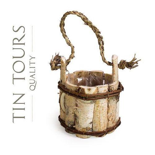 Produkt MAŁY OKRĄGŁY CEBRZYK 17x17x19 cm, marki Tin Tours Sp.z o.o.