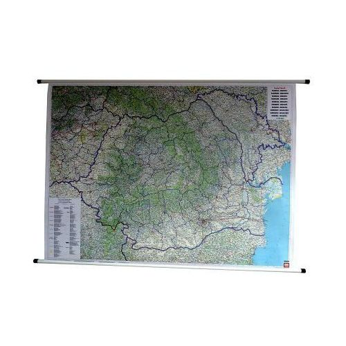 Rumunia. Mapa ścienna drogowa 1:700 000 wyd. Freytag & Berndt, produkt marki Freytag&Berndt