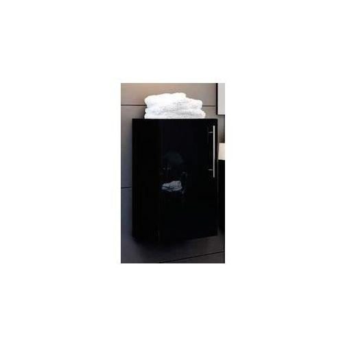 AQUAFORM szafka niska Amsterdam czarna (półsłupek) 0410-202911 - produkt z kategorii- regały łazienkowe