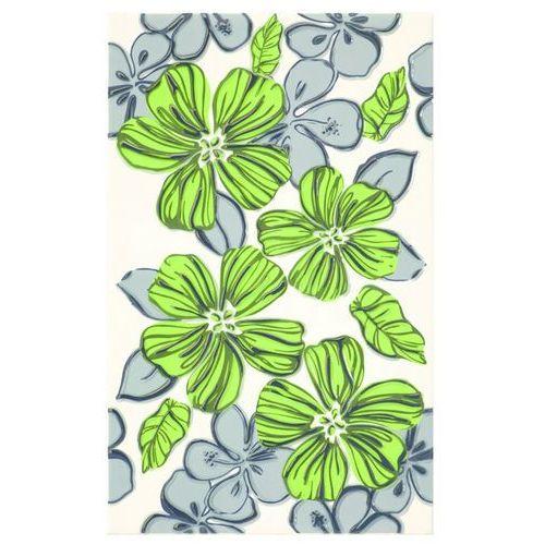 Vivian Verde Inserto Kwiat 25x40 gat.I (glazura i terakota)