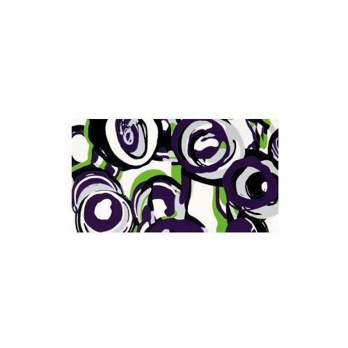 Tubądzin Dekor ścienny Hoop Violet 59,3x32,7 cm (glazura i terakota)