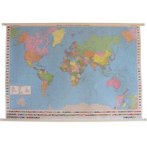 Świat. Mapa ścienna polityczna 1:35 mln wyd. , produkt marki Freytag&Berndt