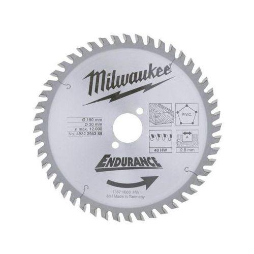 Tarcza tnąca Milwaukee, 190 x 30 mm, gr. 2,8 mm ze sklepu Conrad.pl