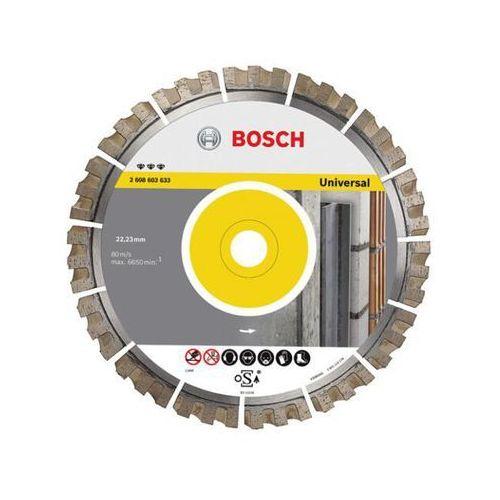 Diamentowa tarcza tnąca D125X22,23mm Best for Universal Bosch ze sklepu NEXTERIO