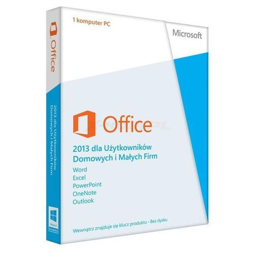 Artykuł Microsoft Office 2013 Home&Business (PKC) z kategorii programy biurowe i narzędziowe