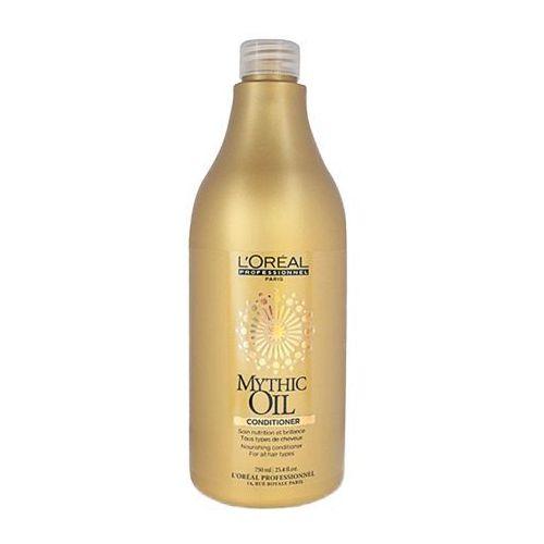 L'Oreal MYTHIC OIL CONDITIONER Nawilżająca odżywka nabłyszczająca do każdego rodzaju włosów (750 ML) - produkt z kategorii- odżywki do włosów