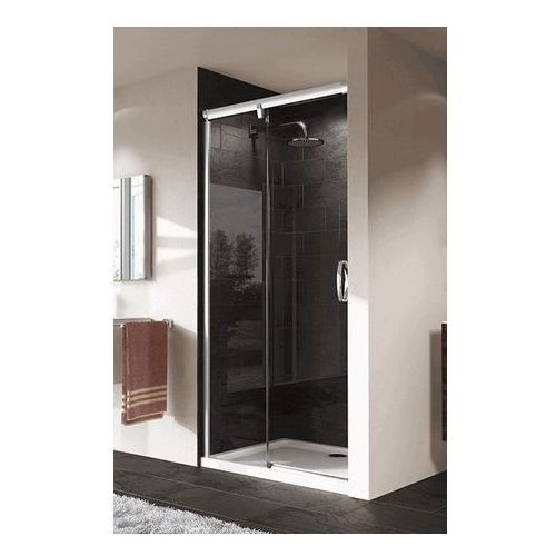HUPPE AURA ELEGANCE drzwi suwane 1-częściowe ze stałym segmentem 401501 (drzwi prysznicowe)