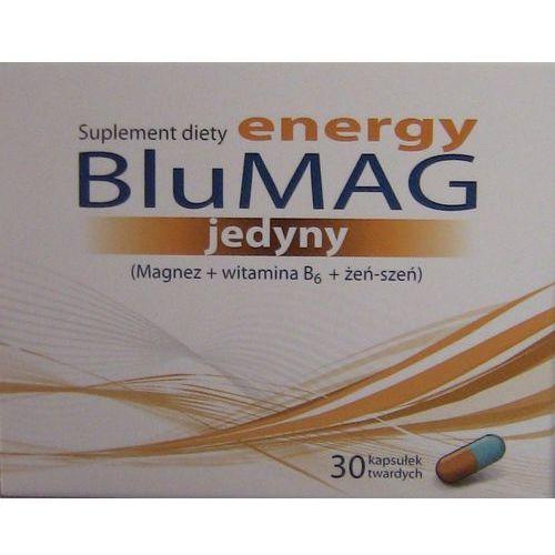 BluMAG Energy jedyny 30 kaps., postać leku: kapsułki
