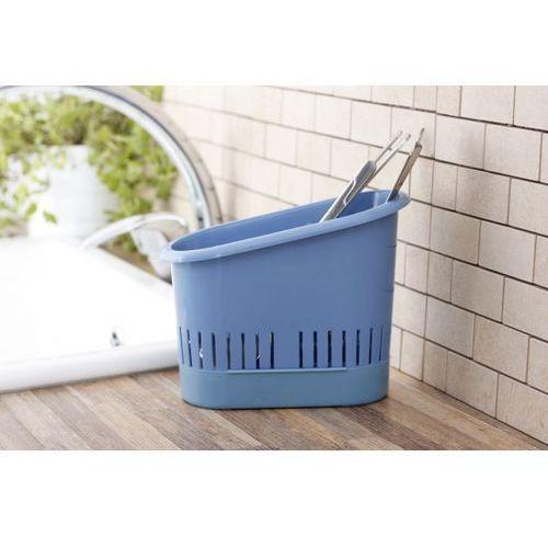 Produkt z kategorii- suszarki do naczyń - Ociekacz na sztućce CLEANING NIEBIESKI