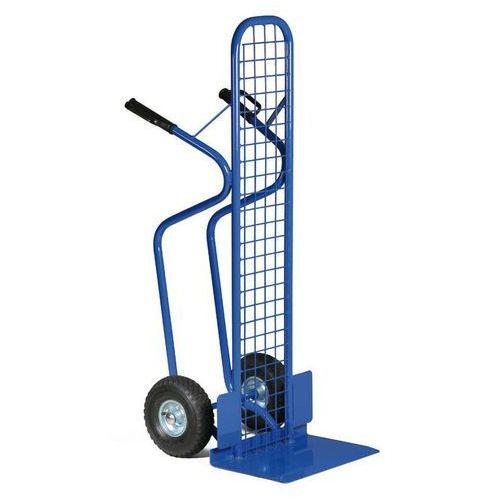 B2B Partner Stalowa taczka - wózek ręczny z siatką z kat. taczki