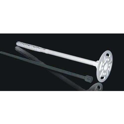 Łącznik izolacji do styropianu Ø10mm L=80mm z trzpieniem poliamidowym 400 sztuk (izolacja i ocieplenie)