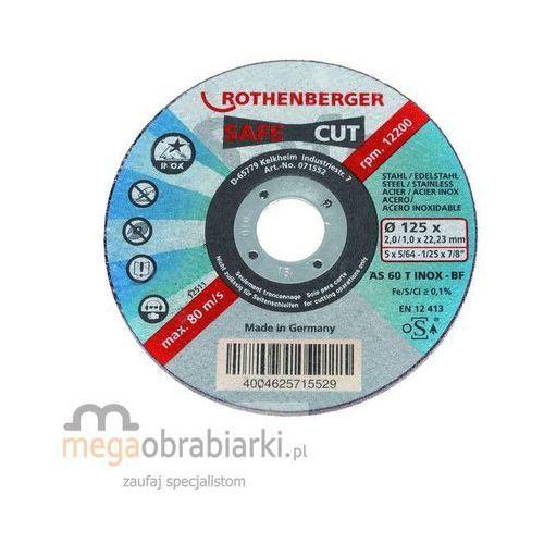 ROTHENBERGER Tarcza tnąca stożkowa INOX INOX Safe Cut 115 RATY 0,5% NA CAŁY ASORTYMENT DZWOŃ 77 415 31 82 ze sklepu Megaobrabiarki - zaufaj specjalistom