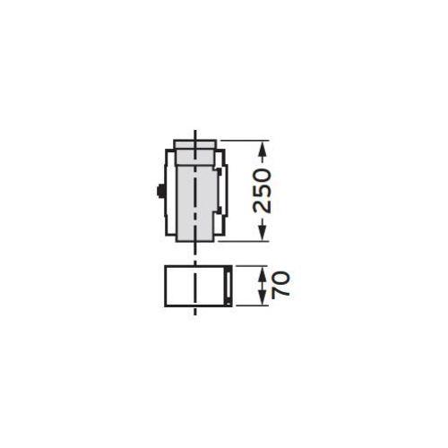 Oferta Vaillant Prostka rewizyjna, koncentryczna 0,25 m (80/125), PP z kat.: ogrzewanie