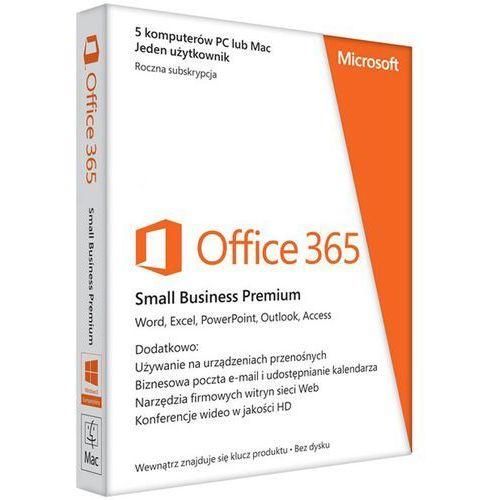 Microsoft Office 365 Small Business Premium PL ESD (6SR-00122) z kategorii Programy biurowe i narzędziowe