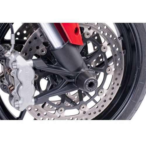 Protektory osi koła przedniego PUIG do Ducati Multistrada 1200 10-14 z kategorii crash pady motocyklowe