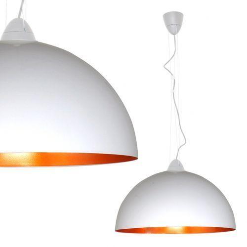 LAMPA wisząca OPRAWA metalowa NAD stół HEMISPHERE L Nowodvorski 4842 złoty biały - sprawdź w MLAMP.pl - Rozświetlamy Wnętrza