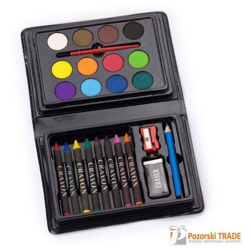 Oferta Zestaw do malowania i rysowania 24 el. [057b682a05f5945a]